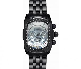 Joe Rodeo Diamant Herren Uhr - KING schwarz 0.36 ctw