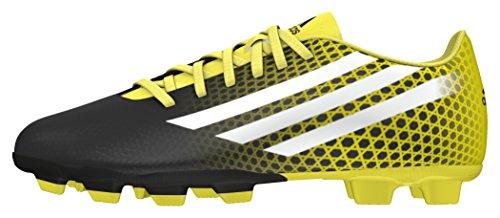 adidas Cq Malice J, Botas de Fútbol para Niños Negro (Negbas / Ftwbla / Amabri)