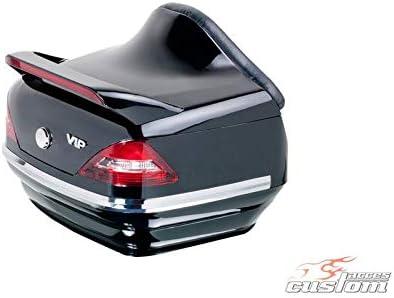 Yamaha XVS 650 Drag Star Classic VM02//03//04 98-07 Customacces AZ1517N Baul Top Case Mercedes 25L