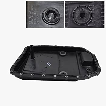 BMW Automatic Transmission Pan + Filter + Gasket + Drain Plug ZF OEM 24117571217