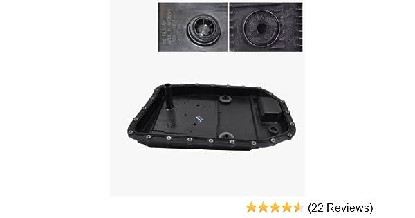Amazon.com: BMW Automatic Transmission Pan + Filter + Gasket + Drain Plug ZF OEM 24117571217: Automotive