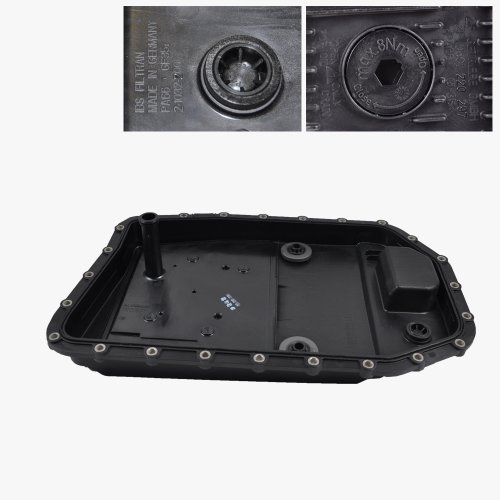 BMW Automatic Transmission Pan + Filter + Gasket + Drain Plug ZF OEM (Bmw Automatic Transmission Filter)