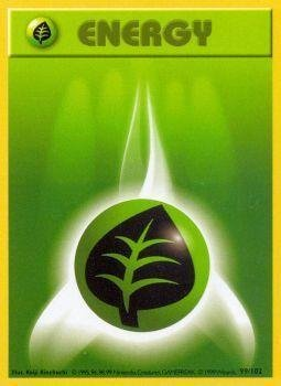 Pokemon - Grass Energy (99/102) - Base Set