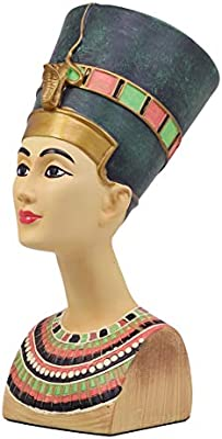 DISEÑO DE TAMAÑO GRANDE ANCIENT REINA EGIPCIA NEFERTITI ...