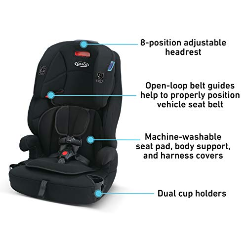 41SOUrPi9qL - Graco Tranzitions 3 In 1 Harness Booster Seat, Proof