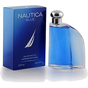 Nautica Blue Eau de Toilette Spray, 3.4 Ounce