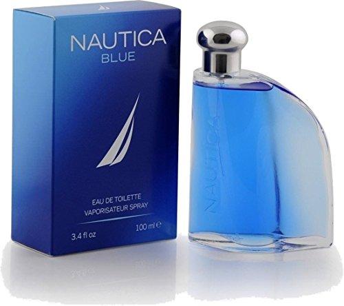 Nautica Blue Eau de Toilette Spray, 3.4 Ounce Blue Spray Cologne