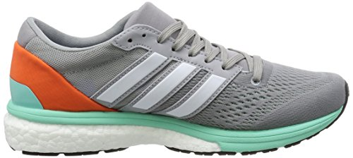 White 6 easy Boston Adizero Grey Adidas Gris Chaussures mid Orange ftwr Running Entrainement Femme De fE74wCx4q