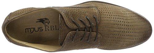 Mjus 361104-0102-6215, Zapatos de Cordones Derby para Hombre Marrón (Noce)