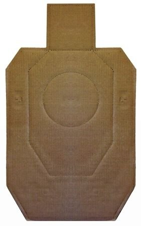 Law Enforcement Targets IDPA Official Competition Cardboard Target 18.25x30.75 Inch 100 Per by Law Enforcement Targets