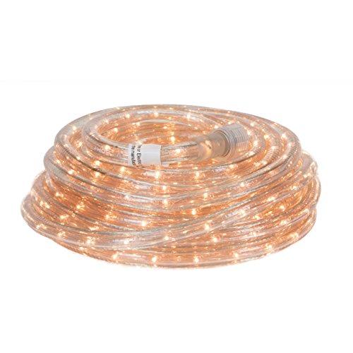 48' Rope Lighting (Direct-Lighting RLWL-INC-48 Warm White 48 FT INCADESCENT Rope Light)