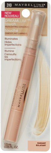 Maybelline New York Dream Lumi Touch Highlighting Concealer, Radiant, 0.05 Fluid Ounce