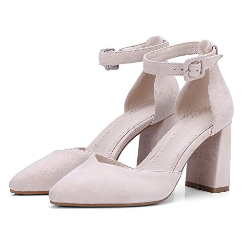 AN Womens Sandals Closed-Toe Light-Weight Urethane Sandals DIU00622 Beige ns7Wl