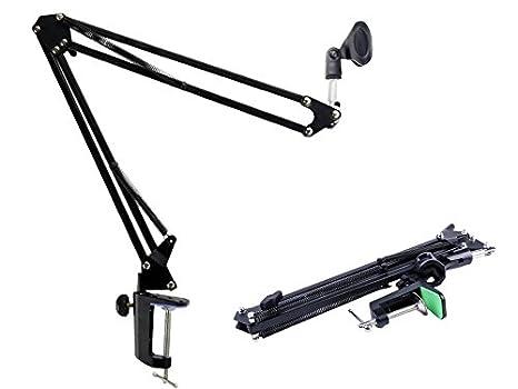 TriEcoWorld profesional ligero ajustable escritorio micrófono de ...