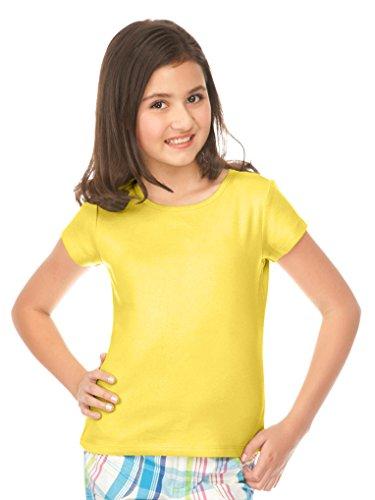 Kavio! Big Girls 7-16 Baby Doll Yellow XL