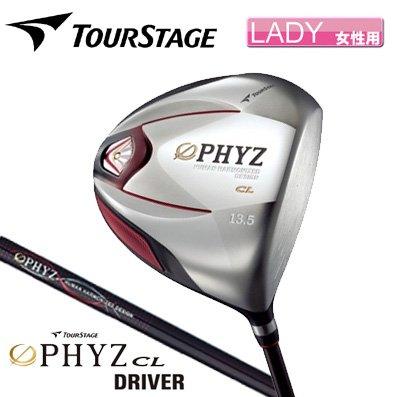 【/レディース】ブリヂストン ゴルフ ツアーステージ ファイズ PHYZ CL ドライバー PZ-401W カーボン 12度/A