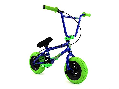 FatBoy Mini BMX Bicycle Freestyle Bike Fat Tires, Blue