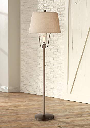 Industrial Floor Lamp with Nightlight LED Edison