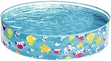 Geng Piscinas hinchables Familia Piscina for niños / 122X25CM for niños con Piscina Marina Duro de Goma Redonda bañera bebé Fiesta del Agua Verano para: Amazon.es: Hogar
