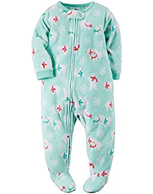 My First Christmas Pajamas Size 12 Months