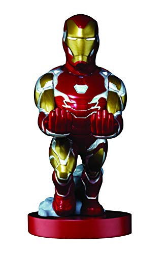 Exquisite Gaming Cable Guy - Marvel Avengers: End Game Iron Man - Charging Controller and Device Holder - Toy - Xbox 360