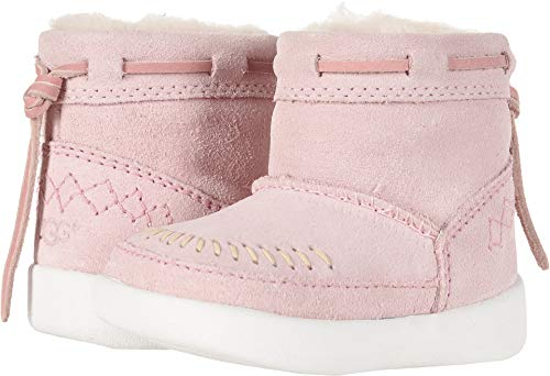 - UGG Girls' I Cali Moc Campfire Fashion Boot, Baby Pink, 2/3 M US Infant