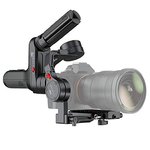 Zhiyun WEEBILL LAB 3 axis Handheld Gimbal Stabilizer for Mirrorless Cameras and Sony A7S A7M3 A7R3 A7R2 A7S2 A6500 A6300 A6000 Panasonic GH5 GH5s(Standard Package)
