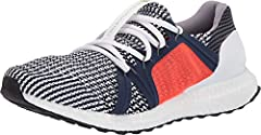 Put many miles behind you wearing the adidas® by Stella McCartney™ Ultraboost sneaker.  Adaptable textile and synthetic upper that shapes with your foot for comfort and flexibility.  Pull-on construction with lace-up closure.  Round toe silh...