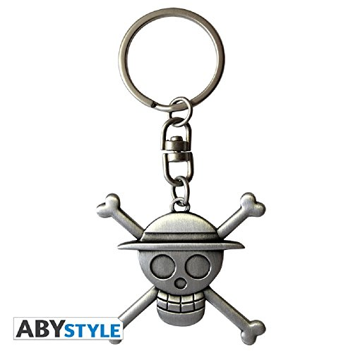- One-piece 3D 599386031 - Skull Luffy Keychain