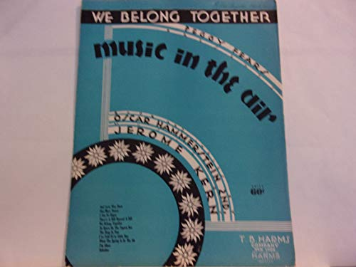 We Belong Together - from Peggy Fears