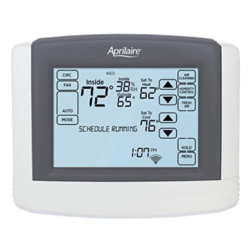 Aprilaire 8620W Touchscreen Wi-Fi Thermostat; Works with Alexa