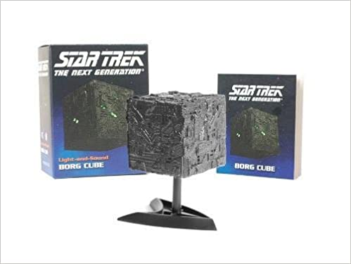 Star Trek: Light-and-Sound Borg Cube (Miniature Editions)