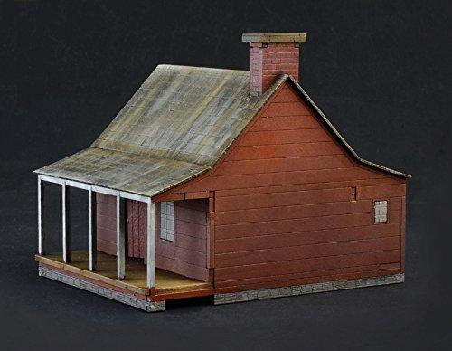 Italeri 6179-Farmhouse Battle-American Civil War 1864-Model Kit-1: 72Scale