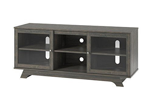 "Ameriwood Home Englewood TV Stand for TVs up to 55"", Weathered Oak"