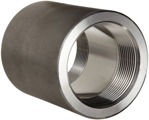Female Pipe Coupling - 316/316L Forged Stainless Steel Pipe Fitting, Coupling, Class 3000, 1