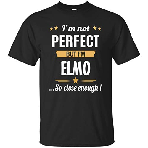 (I Am Elmo Cotton T Shirt Personalized Birthday Xmas Gifts for Men)