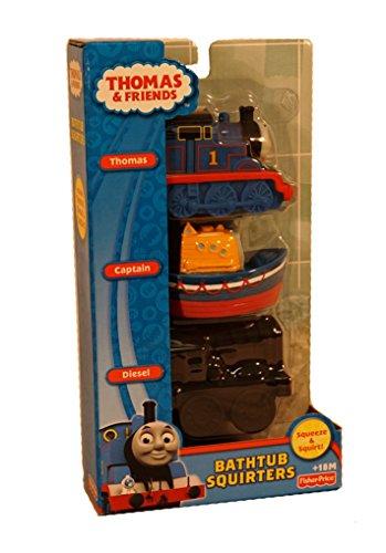 Friends Bathtub (Thomas & Friends Bathtub Squirters ~ Set of 3)
