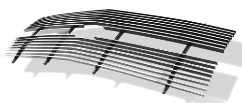 APS C85001A Polished Aluminum Billet Grille Replacement for select Chevrolet C1500 Models (Chevrolet Truck Grill)