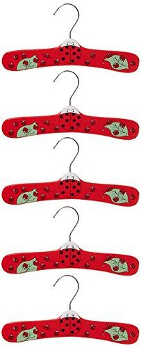 Kidorable Ladybug Infant Hanger Set, Small 5
