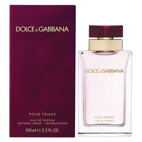 Dolcé & Gabbaná Pòur Fèmmè Perfume For Women 3.3 oz Eau De Parfum Spray