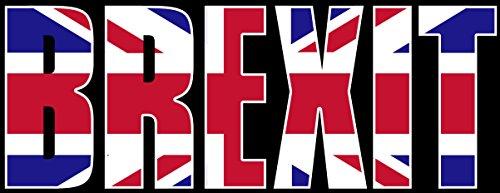Brexit Bumper Sticker  Britain Exit Europe Eu Union No