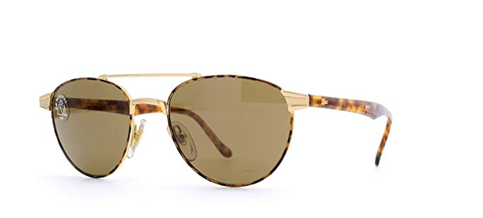 3dd9b75a4a51 Lacoste 174 CC21 Brown Aviator Certified Vintage Sunglasses For Mens and  Womens  Amazon.co.uk  Clothing
