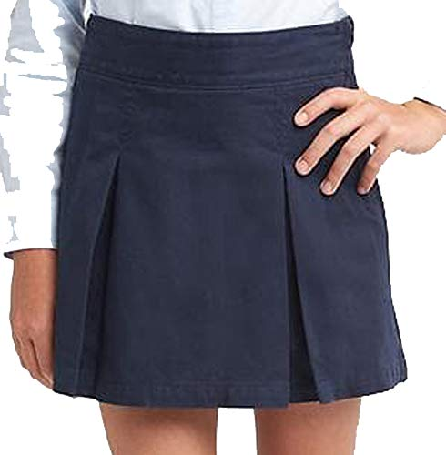 GAP Kids Girls Navy Pleated School Uniform Skort 10 ()