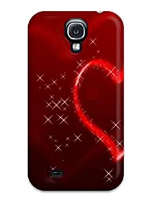 Shirley P. Penley's Shop Best 2475819K19799194 Glittering Heart Fashion Tpu S4 Case Cover For Galaxy