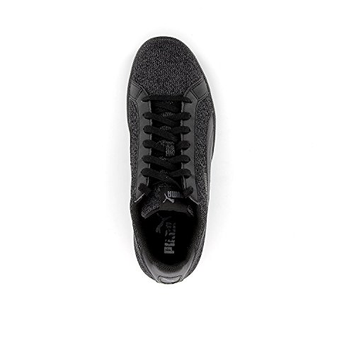 Puma Smash Knit noir, baskets mode homme