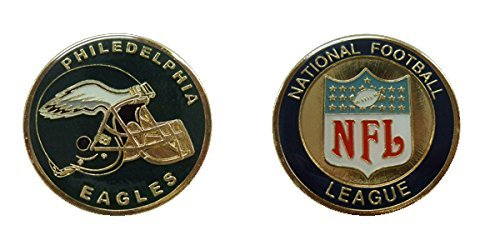 Eagles Collectible Challenge Coin- Logo Poker - Lucky Chip (Preview Trading Card)