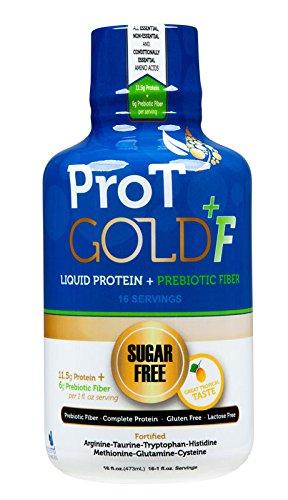 ProT GOLD +F - Tropical Sugar Free Liquid Protein Shot + ...