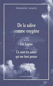 """Afficher """"De la salive comme oxygène"""""""
