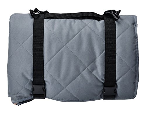 Long Rich Indoor & Outdoor Pet Travel Water Proof Blanket and Seat Predector, 54  x 64 , Grey, by Happycare Textiles