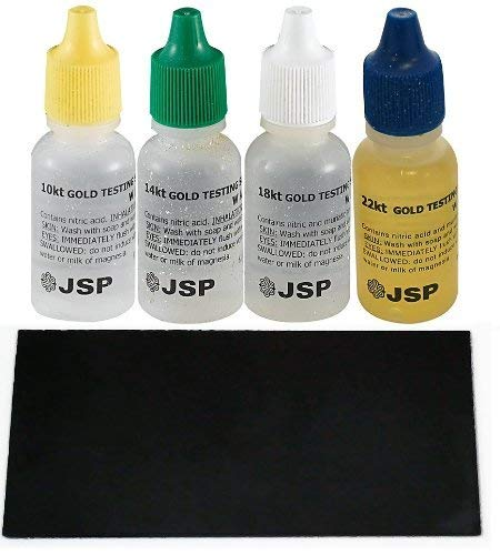 Gold Testing Solutions Kit 10k 14k 18k 22k Scratch Stone (Gold Scratch Test)